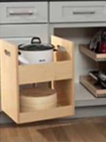 Blind Corner Storage